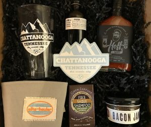 Chattanooga Themed Gift Basket at Locals Only Chattanooga