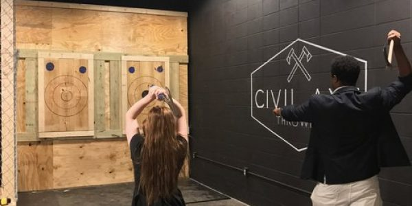 Lanes at Civil Axe Throwing Chattanooga