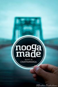 Nooga Made Logo Sticker