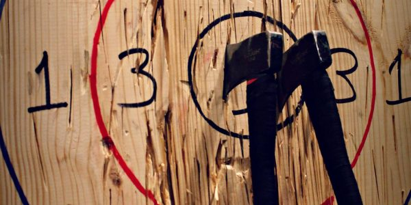 Axe Target at Civil Axe Throwing Chattanooga