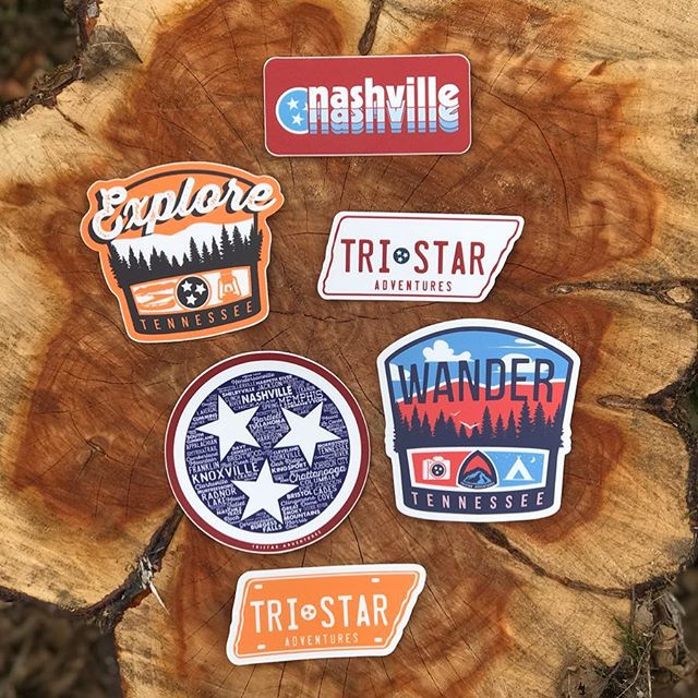 Tennessee-themed Decals from Tristar Adventures